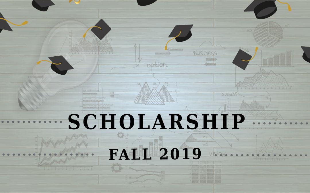 Scholarship – 2019 Fall