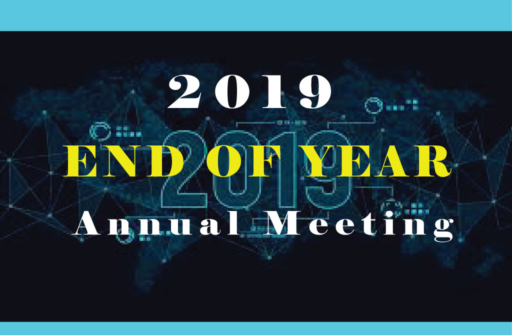 End of 2019 Annual Meeting
